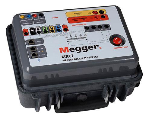 megger mrct继电器和电流互感器测试仪